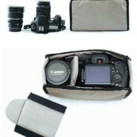 Tas Kantong Wadah Kamera DSLR Mirrorless- Ninenine Compartment Insert