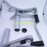 harga FOOTSTEP FOOT STEP UNDERBONE UNDERBOND SATRIA 2T DOUBLE DISC Tokopedia.com