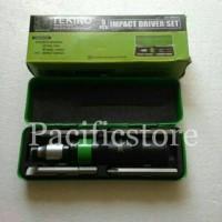 Obeng Ketok Set 5 Pcs Tekiro (Impact Driver)/ Obeng Gedor Set
