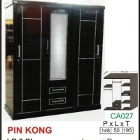 harga Lemari dewasa Multiplex PIN KONG LB 3 SL (Sliding) Tokopedia.com