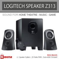 Logitech Speaker System Z313 (L061) Warna Hitam