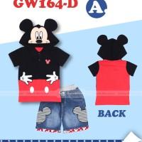 GW 164 D-A mickey hoodie jeans