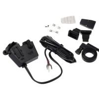 WUPP USB cigarette Lihter waterproof, charger hp / gps sepeda motor