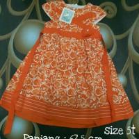 Dress katun anak Aliza Kids