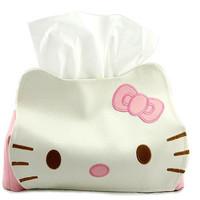 Jual Tempat tissue hello kitty dan pooh/tempat lucu - HHM259 Murah