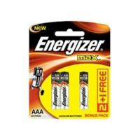 Energizer Alkaline LR03 AAA 2+1