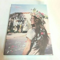 1st Mini Album Jessica With Love, J With Love J FLY Official Korea