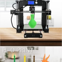 3d printer Full Arcylic Reprap Prusa Industrial i3 DIY 3d Printer Kit