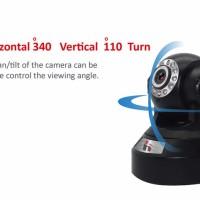 IP Camera 720P HD Wifi Wireless Baby Monitor PTZ Security MicroSD