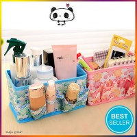 harga Storage Cosmetic Organizer / Box Kotak Penyimpanan Alat Tulis Kosmetik Tokopedia.com