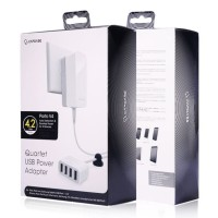 Charger Quartet Usb Power Adapter Capdase Porto V4 4.2