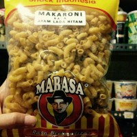 Mabasa Makaroni Ayam Lada Hitam