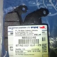 Pad Set Rear TVS Apache dd / Tormax