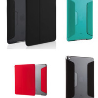 STM Studio iPad mini 4 case Black Smoke / Red Smoke / Atlantis Green