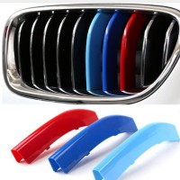 1 set BMW F10 grille modified three colors trim Car body