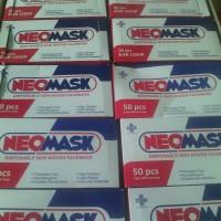 Masker Neomask 3 ply Earloop