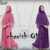 Gamis Cheris Oki Best Seller
