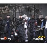 e-money saldo 100rb suicide squad edition e-toll bank mandiri emoney