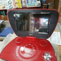 "DVD PORTABLE GMC 9"" DIVX 808U TV-GAME"