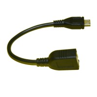 USB Host OTG Adapter Cable For Samsung Galaxy