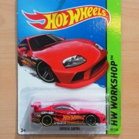 HOT WHEELS TOYOTA SUPRA RED 2015 #201/250