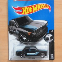 HOT WHEELS BMW 2002 BLACK 2016 #186/250
