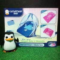 Kasur Lipat Bayi Bumper Kelambu Tenda Chintaka baby Pink Biru CBK 4401
