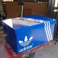 giant box,box sneakers,box adidas,box sepatu,rak sepatu,lemari sepatu