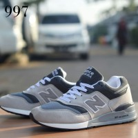 sepatu NB 997 grey white premium casual pria