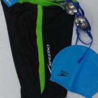 Kacamata Speedo Lx1000+Caps+Celana Speedo