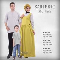 Qirani Sarimbit - Abu Muda 02 - Jual Hijab dan Baju Muslim Keluarga