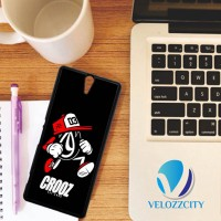 Custom Casing HP Sony Xperia C, C3, C4, C5 crooz cloth logo Z3820 Hard
