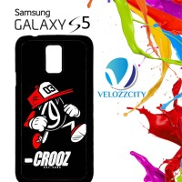 Custom Casing HP Samsung Galaxy S4, S5 crooz cloth logo Z3820 Hardcase