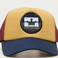 Topi Jaring trucker King Logo Twotone Caps 3 SECOND asli original