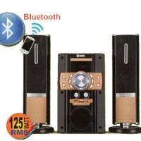 GMC 885S Multimedia Speaker Aktif 125WRMS Subwoofer Karaoke Bluetooth