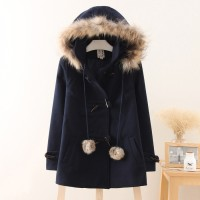 harga College Winter Coat Navy Tokopedia.com