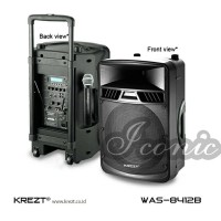 harga Portable Wireless Meeting KREZT WAS 8412B (12 inch) Tokopedia.com
