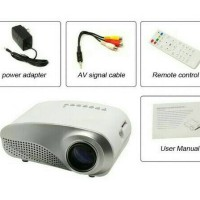 Jual Projector mini RD802 proyektor mini LED 802 TV Tunner Bonus Tripod Murah