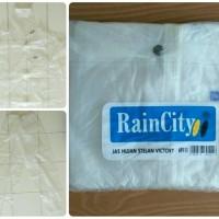 Jas hujan Rain City Victory Stelan (atasan+celana) transparan