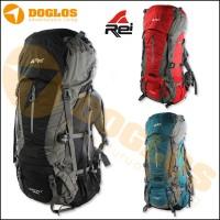 Tas Carrier Rei Sampit 75 +10L 85L Backpack ransel Gunung keril travel