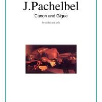 Buku Biola dan Cello Canon in D and Gigue by Johann Pachelbel