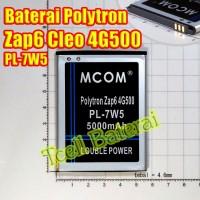 Baterai Polytron Zap 6 Cleo 4G500 PL-7W5 MCom