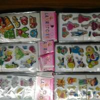 stiker karakter mini doraemon marie angry bird princes barbie winnie