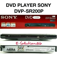 Dvd Player Sony DVP-SR200P Usb,Dvd,Vcd,Cd,Mp3