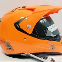 harga Helm Snail Supermoto Super Moto Full Fullface Double Visor Tokopedia.com