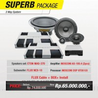 SUPERB PACKAGE 3WAY KOMPONEN - SPECIAL GAIKINDO 2016