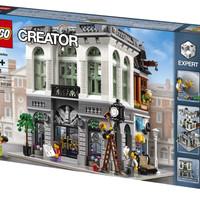 Lego Creator-10251 Brick Bank Set Building Toy Expert Modular City New