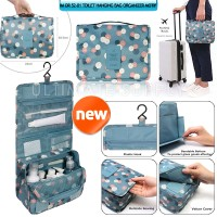 Toilet Hanging Bag Organizer Motif Flowers IM OR 52-01 - Tosca