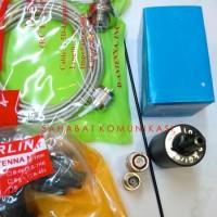 Paket Antena Larsen+Teflon RG58 3mm+Konektor BNC+SMA Female+Bracket