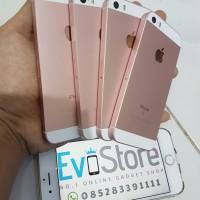 harga iPhone 5S 32GB [CUSTOMCASE iPhone SE RoseGold] Mirip SE 99% ! FULLSET Tokopedia.com